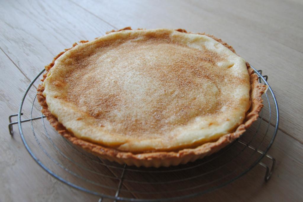 South African Milk Tart Dessert Recipe